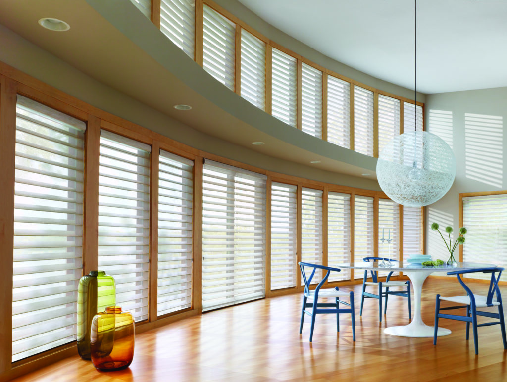 motorized window coverings hunter douglas