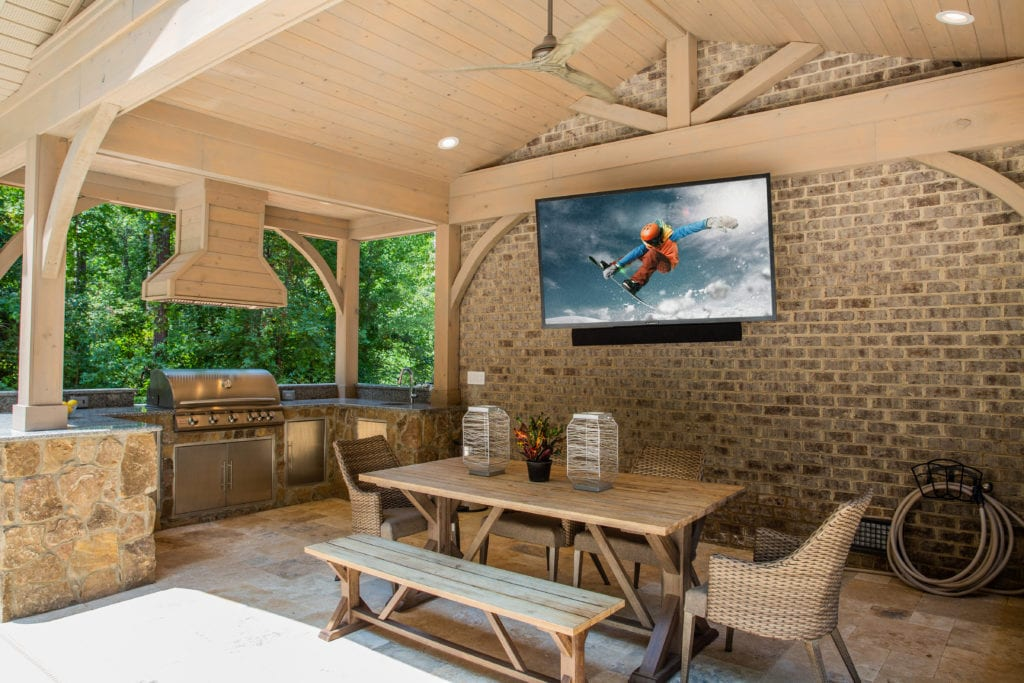 outdoor living tv soundbar